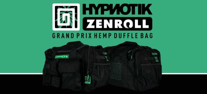 Hypnotik ZenRoll Hemp Backpacks and Duffle Bag